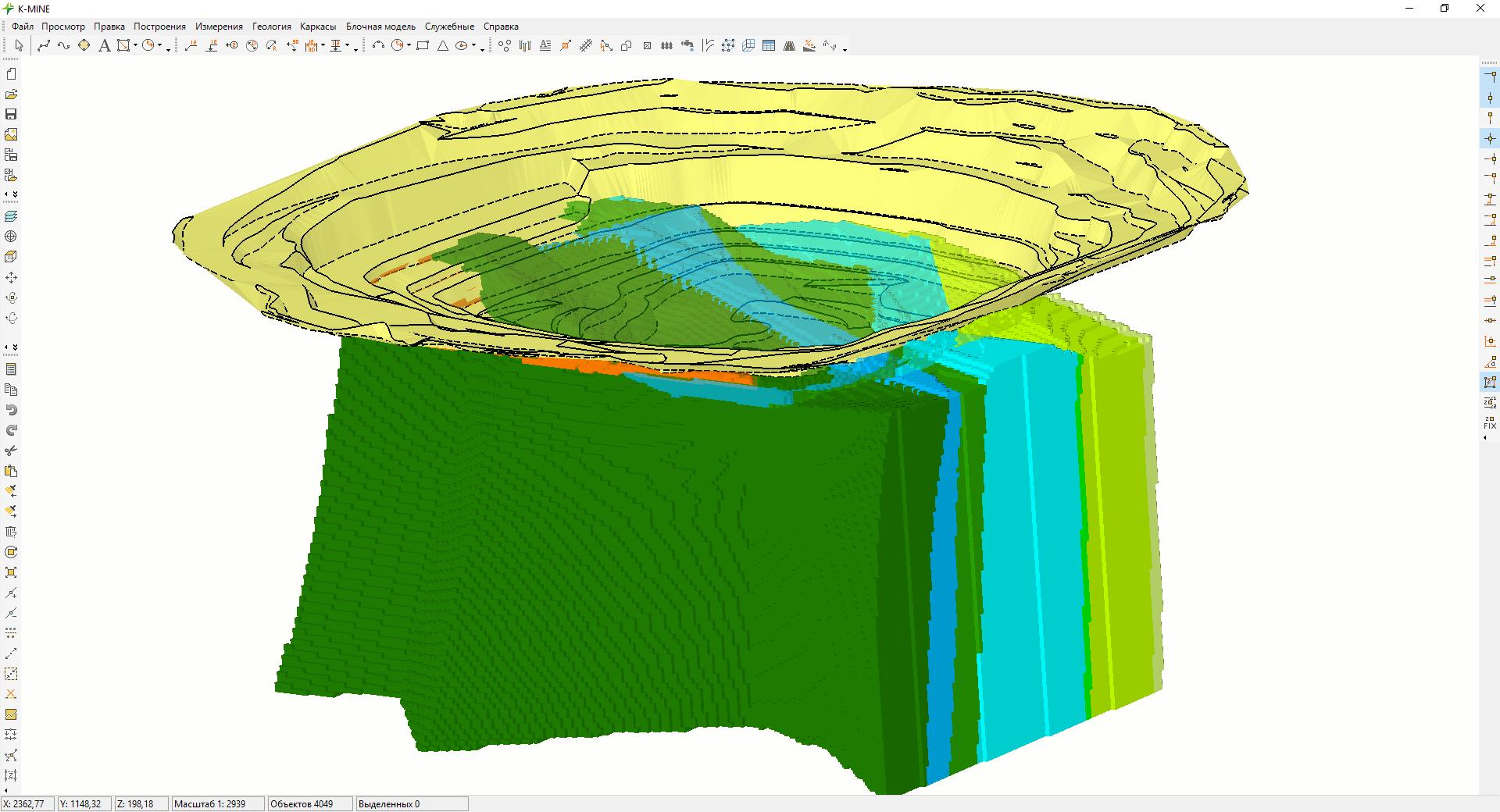 Программа для геологов