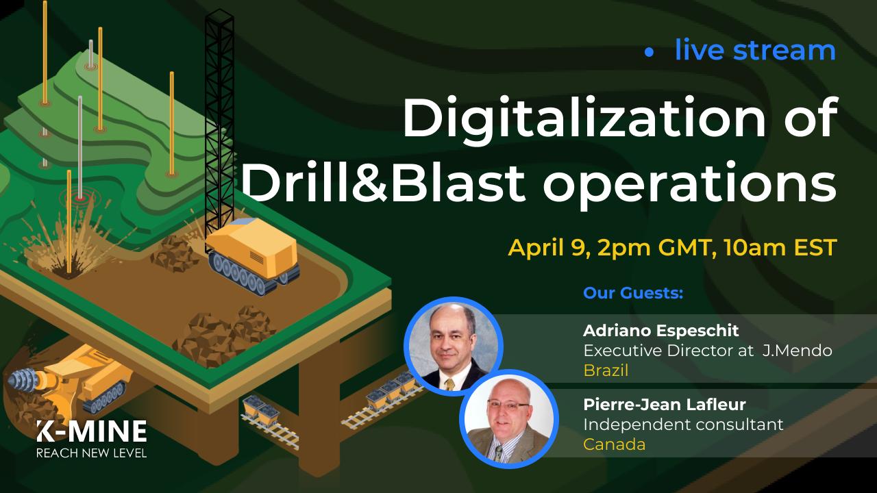 Live Stream: Digitalization Of Drill & Blast Operations